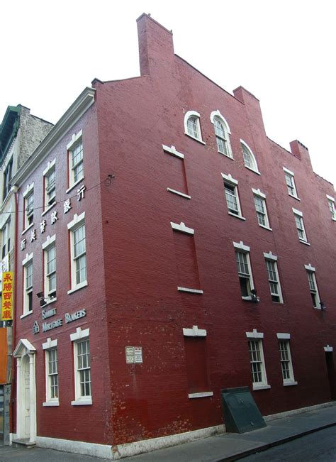 Manhattan Address Finder Edward Mooney House 18 Bowery Manhattan Ny Location Hours And Website