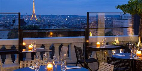hotel w terrasse 5 des rooftops parisiens 224 conna 238 tre