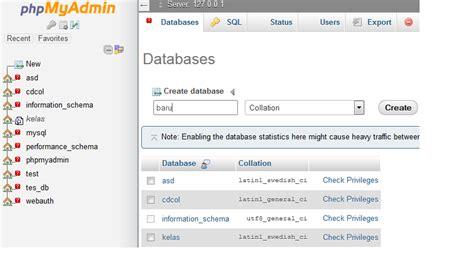 membuat database di joomla tutorial membuat website joomla saling berbagi