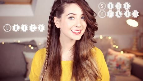 easy hairstyles zoella 5 easy hairstyles zoella