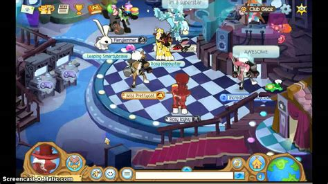Jam Club 1 in club geoz animal jam randoom