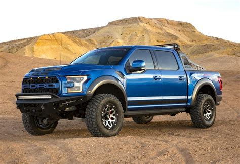 Blue 2017 Ford Raptor by 2018 Shelby Baja Raptor Blue Oval Trucks