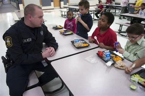 School Officer by The School To Prison Pipeline In Study Says The