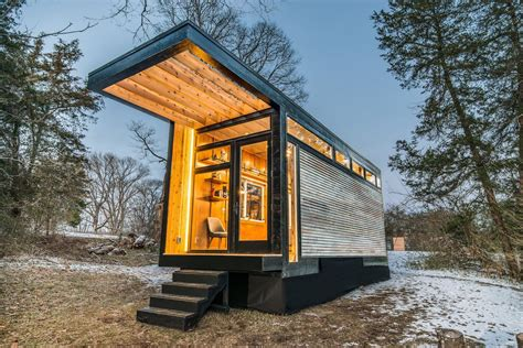 tiny house new new tiny house also serves as writing studio and library curbed