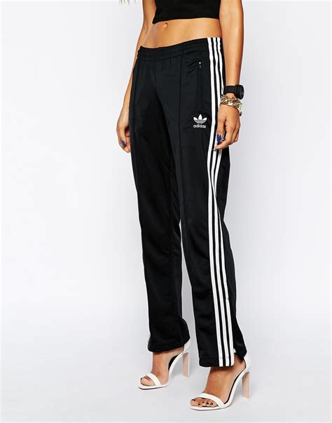 stripe sweatpants adidas originals 3 stripe sweat in black lyst