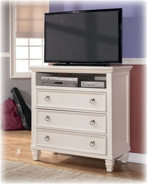 White Bedroom Media Chest Cheap Cottage Style White Prentice Bedroom Media Chest