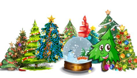 animated christmas tree download
