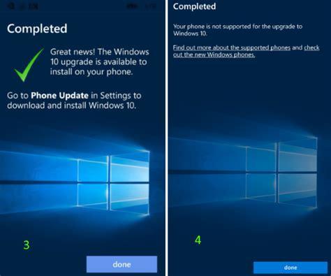 install windows 10 upgrade app windows 10 mobile upgrade advisor app
