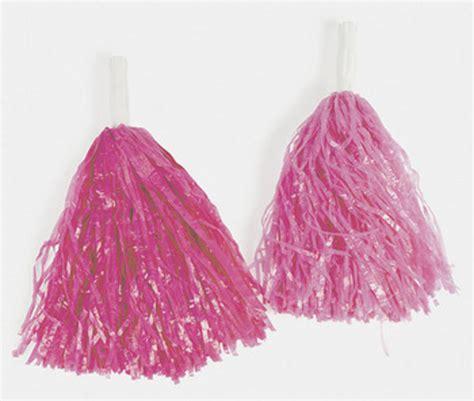 pom pomeranians pair pom poms school cheerleading costume pink ebay