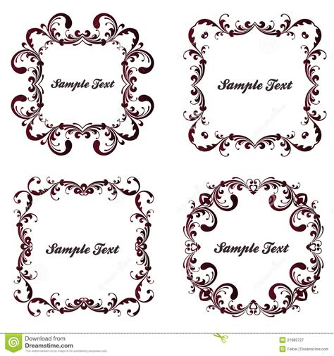 frame pattern images vintage frame pattern royalty free stock photography