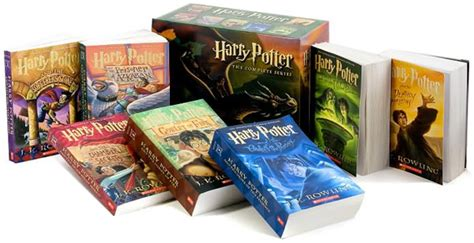 libro harry potter paperback box harry potter paperback set the awesomer