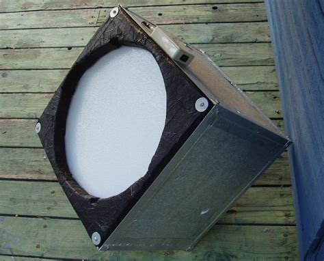 flat field light panel styrofoam light box with 1