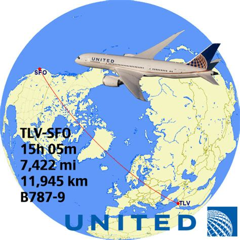 top 14 longest united flights in the world airliners net top 14 longest united airlines flights in the world