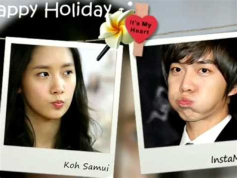 lee seung gi kiss yoona lee seung gi yoona playful kiss youtube