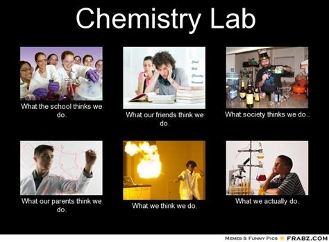 Funny Chemistry Memes - site unavailable
