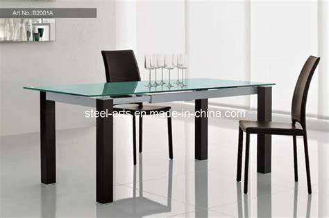 Extendable Glass Dining Room Table by Dining Table Dining Table Extendable Black