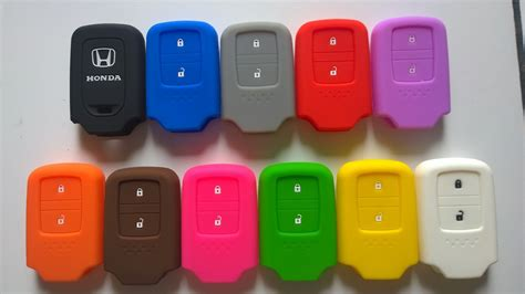 Silicon Kunci Mobil Remote Mobil Honda Freed Jazz Crv jual harga kunci sarung silikon kunci honda all