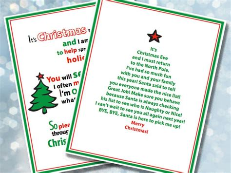 printable elf on the shelf messages m 225 s de 1000 ideas sobre carta de despedida de elfos en
