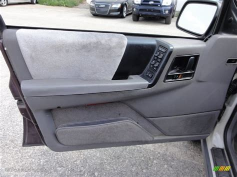 Jeep Grand Door Panel 1995 Jeep Grand Laredo 4x4 Gray Door Panel Photo