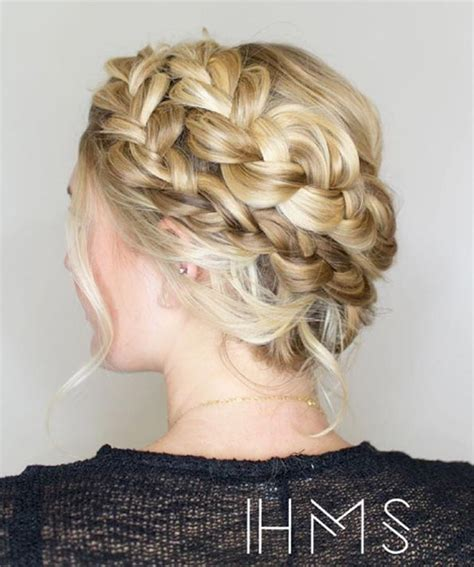 how to do full crown hairstyles 53 braided wedding hairstyles all brides should see