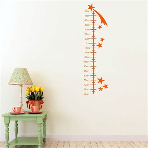 growth chart wall sticker shooting growth chart wall sticker by mirrorin