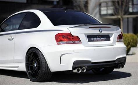 Bmw 1er Coupe Hardtop by Hecksto 223 Stange M Look E82 88 Coupe Cabrio Kerscher Tuning