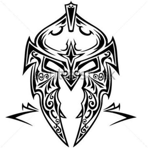tribal tattoo knight tribal vector helmet 140575483 jpg 380 215 380 pixels