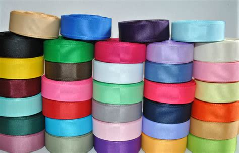 grosgrain ribbon bulk wholesale grosgrain ribbon solid color 5 8 34 by azenithcollection