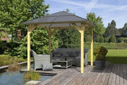 Pavillon Zu Kaufen by Gartenlauben Und Holzpavillon Als Bausatz G 252 Nstig