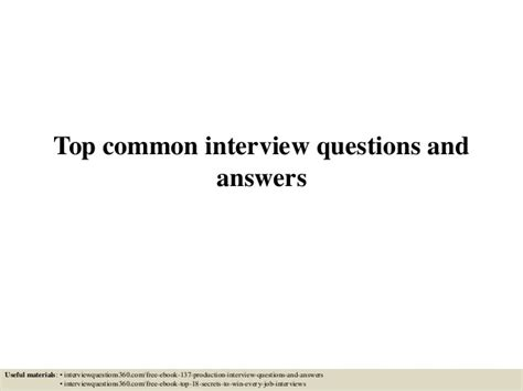top 15 questions and answers pdf