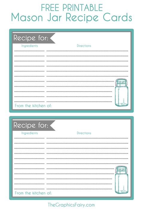 real simple recipe card template 15 free recipe cards printables templates and binder inserts