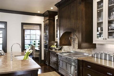 traditional kitchen color schemes stain colors for cabinets kitchen traditional with arch