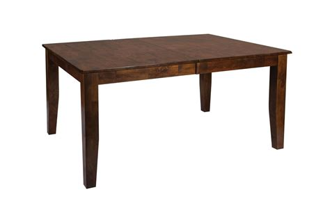 white wood dining table kona solid wood dining table at gardner white