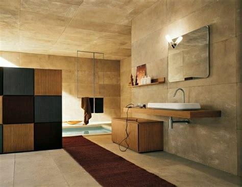 badezimmer ideen holz waschtisch aus holz f 252 r mehr gem 252 tlichkeit im bad