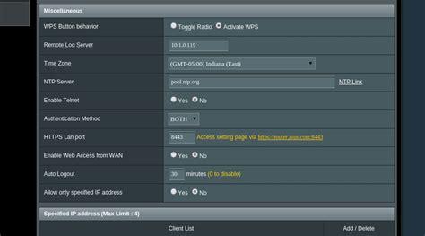 nvram configuration reset asus configure syslog logging levels on the asus rt ac66u