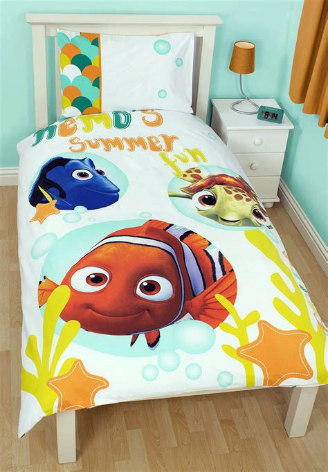 nemo bedding disney finding nemo single duvet quilt cover pillowcase