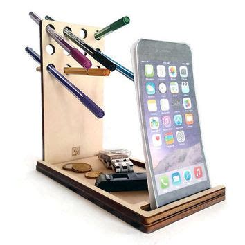 Desk Phone Accessories Shop Wood Iphone Dock On Wanelo