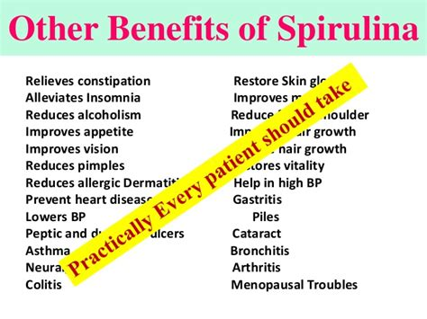 The Benefits Of A Gastrosintestinal Detox by Medicinal Uses Of Spirulina A Doctor Should