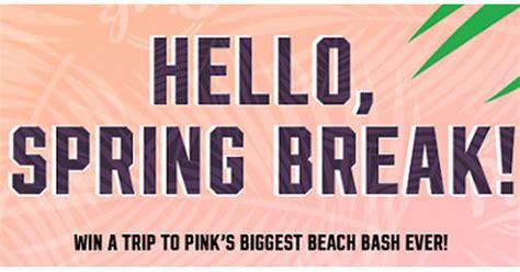 Victoria Secret Sweepstakes - victoria s secret pink hello sun sweepstakes sweepstakes and more at topsweeps com