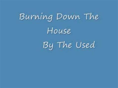 burning down the house lyrics burning down the house lyrics in description youtube