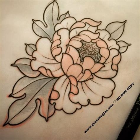 peony tattoo design 25 best ideas about japanese peony on