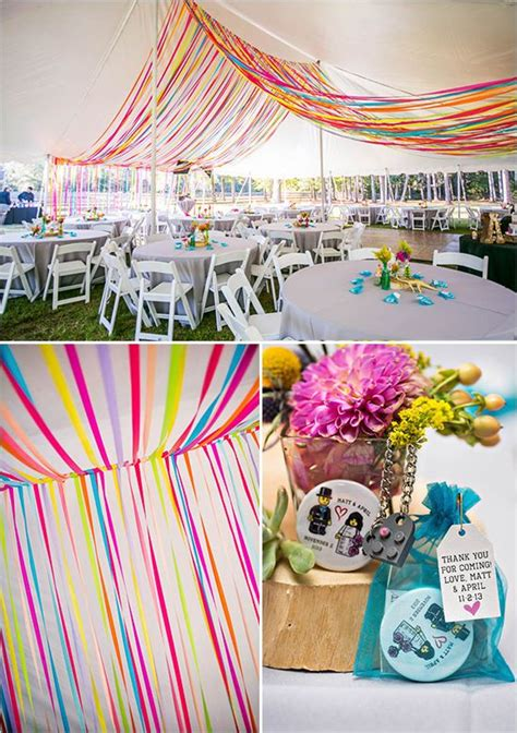 Rainbow Bright Decorations by 17 Best Ideas About Bright Color Wedding On