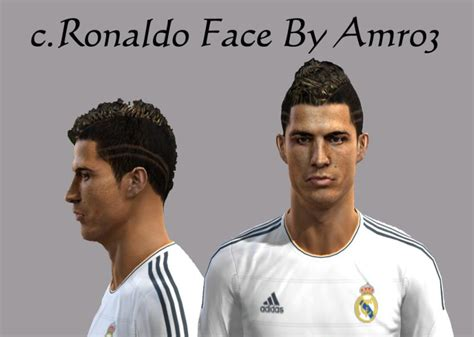 download hairstyles pes 2013 c ronaldo new hairstyle by amro3 pes patch