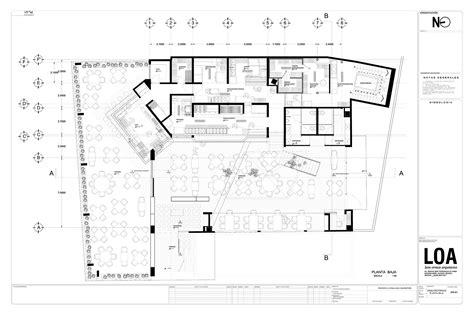 layout de un hotel galeria de restaurante la tequila sur loa 13