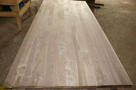 black walnut table top american black walnut lamellas worktops jieke wood