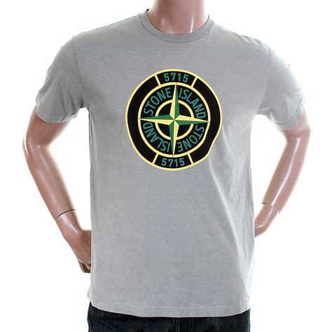 T Shirt Logo island mens grey 561520181 compass logo shirt