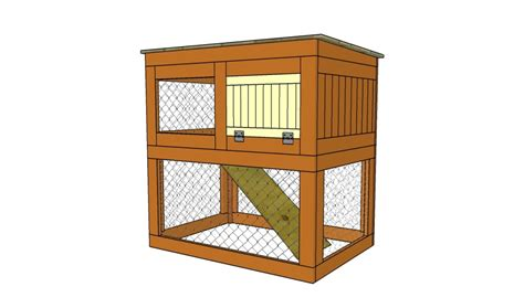 Rabbit Hutch Building Plans how to build a rabbit hutch step by step howtospecialist how to build step by step diy plans