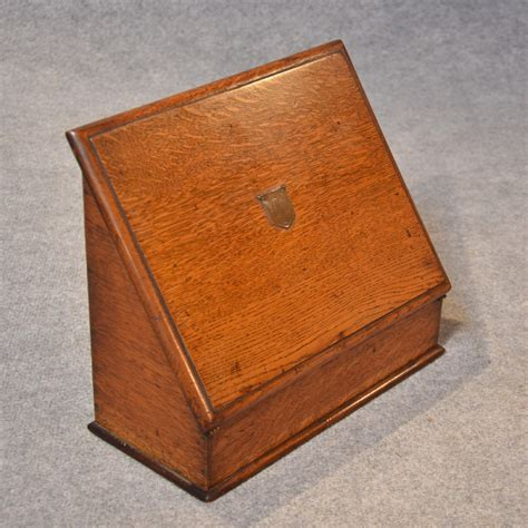 desk in a box antique writing box quality oak stationery box desk tidy