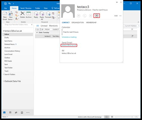 Email Search Uk Searching The Global Address List Gal In Outlook 2016