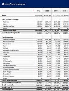 Even Analysis Excel Template by Even Analysis Excel Template Images